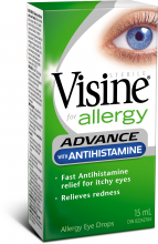 Advance with Antihistamine Allergy