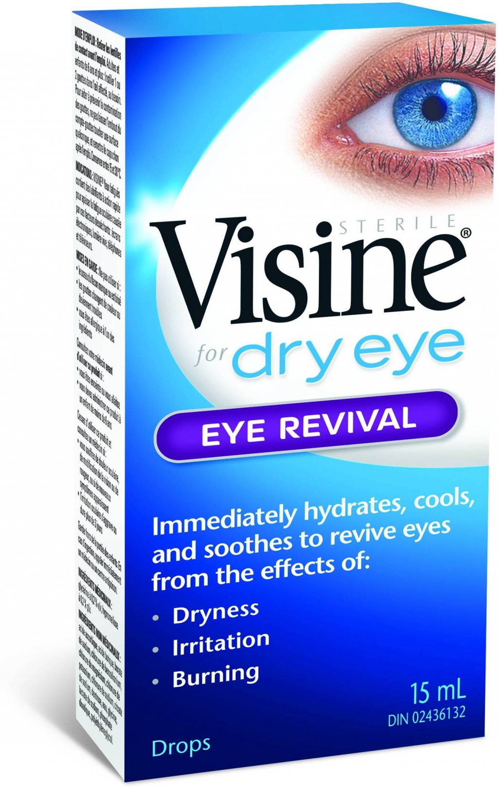 Visine for Dry Eye Eye Revival