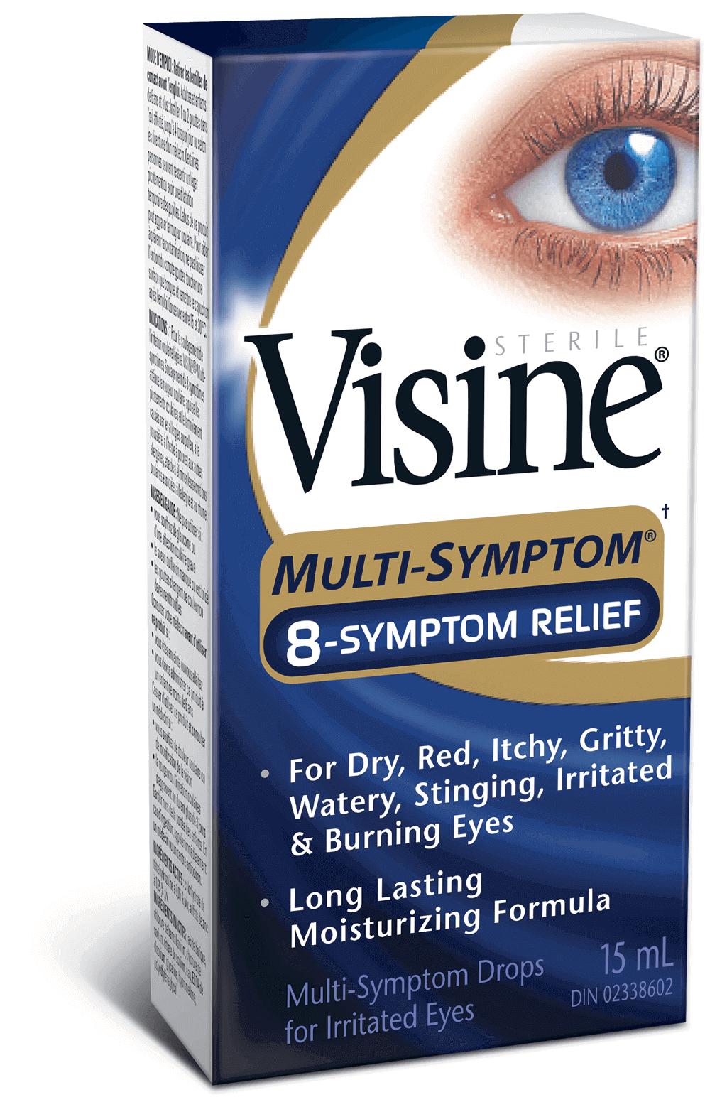 VISINE® Multi-Symptom 8-Symptom Relief