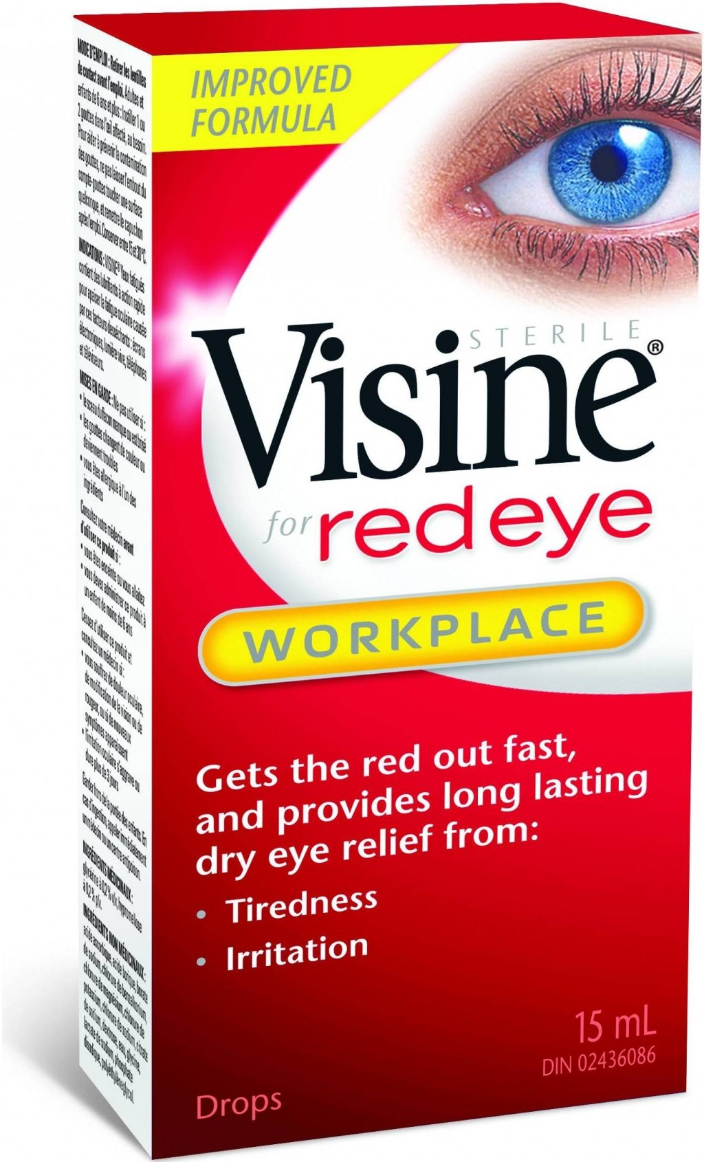 Visine for Red Eye Workplace