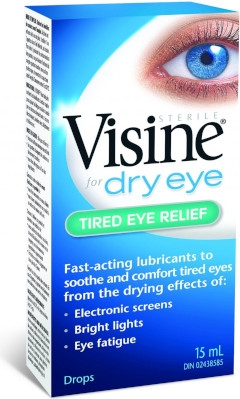 Visine for Dry Eye Tired Eye Relief